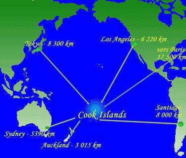 Cartina Mondo Bora Bora.Guida Isole Cook Viaggi Vacanze E Matrimoni A Rarotonga E Aitutaki